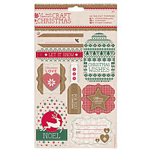 Buy Docrafts Die-cut Toppers, Pack of 2 Online at johnlewis.com