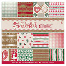 "Buy Docrafts 12x12"" Paper Pack, Pack of 32 Online at johnlewis.com"