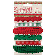Buy Docrafts Trims, Pack of 6, 1m Online at johnlewis.com