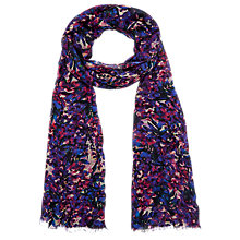Buy Kaliko Alexa Print Scarf, Purple Online at johnlewis.com