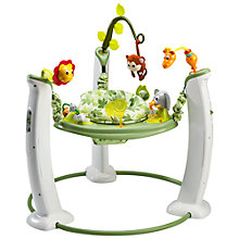 Buy Evenflow ExerSaucer® Safari Friends Jump and Learn Activity Centre Online at johnlewis.com