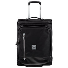 Buy Delsey Solution 4 Wheel 55cm Cabin Suitcase, Black Online at johnlewis.com