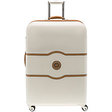 Buy Delsey Chatelet 4-Wheel 77cm Large Suitcase Online at johnlewis.com