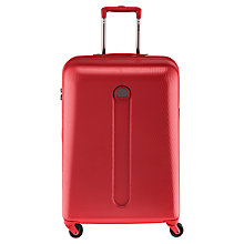 Buy Delsey Helium 4-Wheel Medium Suitcase, Silver Online at johnlewis.com