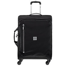 Buy Delsey Solution 4-Wheel 65cm Medium Suitcase, Black Online at johnlewis.com