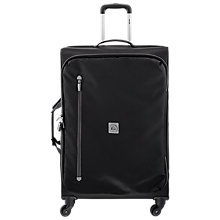 Buy Delsey Solution 4 Wheel 75cm Large Suitcase, Black Online at johnlewis.com
