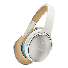 Buy Bose® QuietComfort® Noise Cancelling® QC25 Over-Ear Headphones Online at johnlewis.com