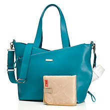 Buy Storksak Lucinda Changing Bag, Teal Online at johnlewis.com