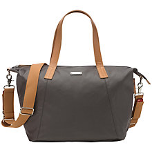 Buy Storksak Noa Changing Bag, Chestnut Grey Online at johnlewis.com