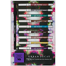 Buy Urban Decay Ten 24/7 Eye Pencil Set Online at johnlewis.com