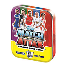 Buy Match Attax Trading Cards Game Tin, 2014/15 Barclays Premier League Online at johnlewis.com