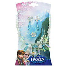 Buy Disney Frozen Anna & Elsa Jewellery Set Online at johnlewis.com