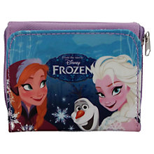 Buy Disney Frozen Anna & Elsa Zipped Purse Online at johnlewis.com