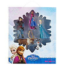 Buy Disney Frozen Figurines Set, Pack of 5 Online at johnlewis.com