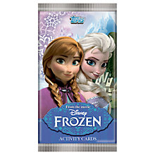 Buy Disney Frozen Topps Activity Trading Cards, Pack of 5 Online at johnlewis.com