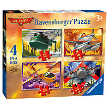 Buy Ravensburger Disney Planes 2: 4 In A Box Jigsaw Puzzles Online at johnlewis.com