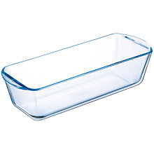 Buy Pyrex Glass Loaf Dish, 28cm Online at johnlewis.com