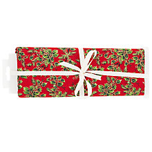 Buy Red Holly Craft Fabric Online at johnlewis.com