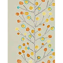 Buy Scion Berry Tree Wallpaper, Orange, 110203 Online at johnlewis.com