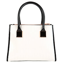 Buy Ted Baker Sophia Tote Bag, Natural Online at johnlewis.com