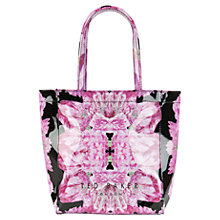 Buy Ted Baker Tenicon Small Icon Shopper Bag, Black Online at johnlewis.com