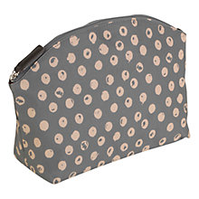 Buy Radley Large Moon Dots Zip Cosmetics Bag, Grey Online at johnlewis.com