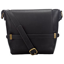 Buy John Lewis Beatrice Satchel Across Body Bag, Black Online at johnlewis.com