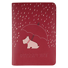 Buy Radley Right As Rain Leather Passport Holder Online at johnlewis.com