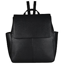 Buy COLLECTION by John Lewis Gia Backpack, Black Online at johnlewis.com