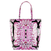 Buy Ted Baker Tulicon Large Icon Shopper Bag, Black Online at johnlewis.com