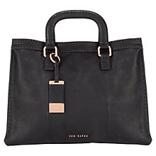 Buy Ted Baker Tottier Stitch Leather Tote Bag Online at johnlewis.com