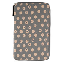 Buy Radley Moon Dots Large Zip Kindle Cover, Grey Online at johnlewis.com