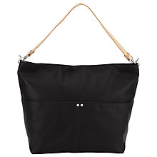 Buy Kin by John Lewis Lexus Hobo Bag, Black Online at johnlewis.com