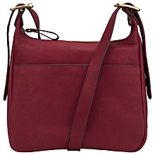 Buy John Lewis Coney Pocket Leather Across Body Bag Online at johnlewis.com