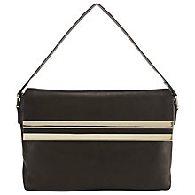 Buy COLLECTION by John Lewis Jayla Leather Gold Bar Shoulder Bag Online at johnlewis.com
