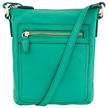 Buy COLLECTION by John Lewis Small Leather Carlyle Square Across Body Bag Online at johnlewis.com