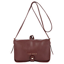 Buy Ted Baker Markun Leather Cross Body Bag Online at johnlewis.com