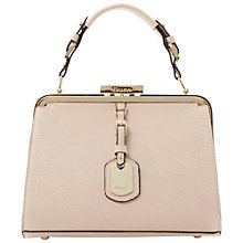 Buy Dune Dinidalley Leather Mini Frame Top Bag Online at johnlewis.com