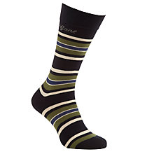 Buy Gant Retro Stripe Socks, One Size Online at johnlewis.com