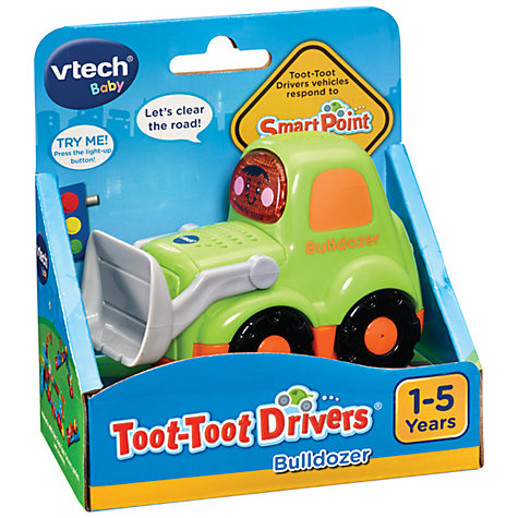 Buy VTech Baby Toot-Toot Drivers Bulldozer Online at johnlewis.com