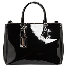 Buy Mango Patent Tote Bag Online at johnlewis.com