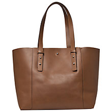 Buy Gérard Darel Soho Leather Shopper Bag, Camel Online at johnlewis.com
