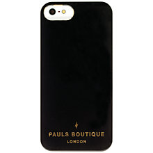 Buy Paul's Boutique Isabel Blossom Tiger Case for iPhone 5, Black Online at johnlewis.com