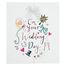 Buy Rachel Ellen On Your Wedding Day Card Online at johnlewis.com