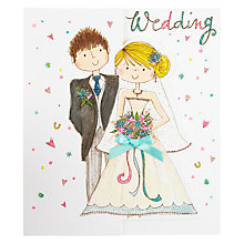 Buy Rachel Ellen Couple Wedding Card Online at johnlewis.com