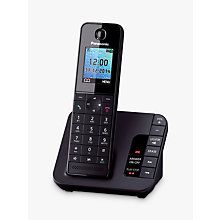 Buy Panasonic KX-TGH220EB Digital Telephone and Answering Machine with Nuisance Call Control, Single DECT Online at johnlewis.com