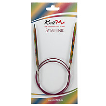 Buy Knit Pro 80cm Symfonie Fixed Circular Knitting Needles, 5.5m Online at johnlewis.com