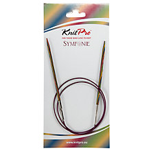 Buy Knit Pro 80cm Symfonie Fixed Circular Knitting Needles, 3.75mm Online at johnlewis.com