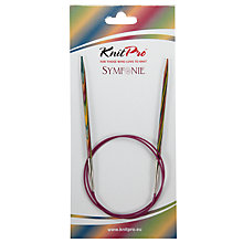 Buy Knit Pro 80cm Symfonie Fixed Circular Knitting Needles, 4mm Online at johnlewis.com