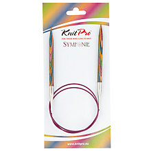 Buy Knit Pro 80cm Symfonie Fixed Circular Knitting Needles, 7m Online at johnlewis.com